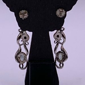 Carolyn Pollack Jewelry - Vintage Retired Carolyn Pollack Earrings